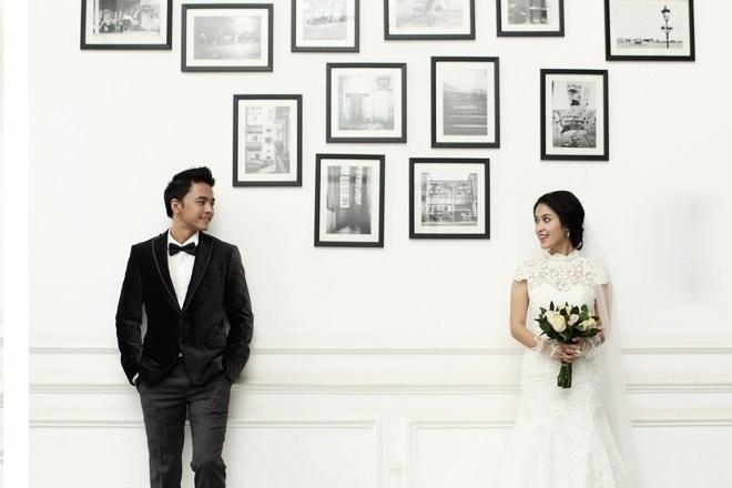 Ảnh cưới của vợ chồng cặp đôi