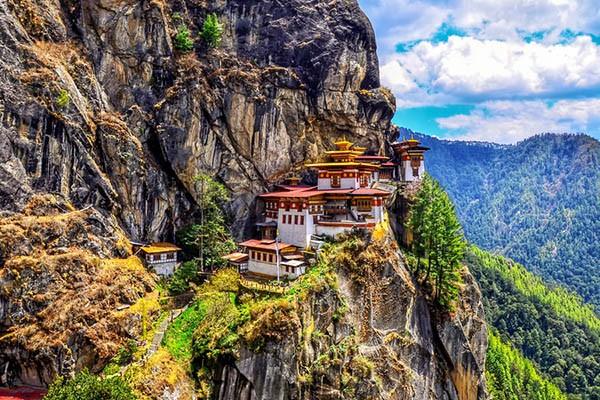 Tu viện Tiger's Nest ở Bhutan