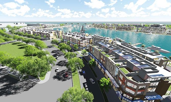 Shophouse của dự án Tuần Châu Marina Hạ Long