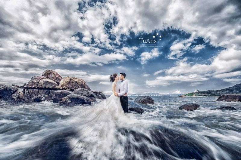 Phong cách chụp hình ấn tượng tại TuArt Wedding.