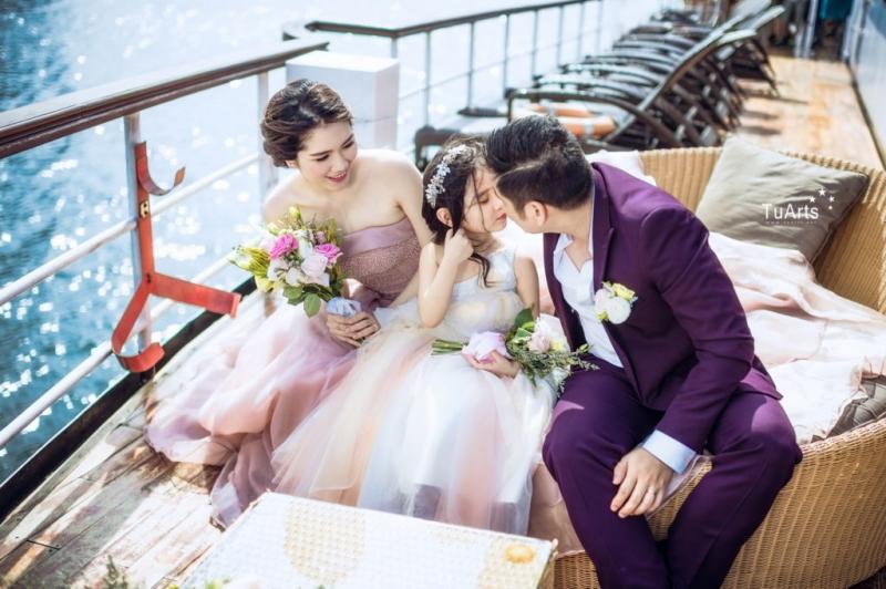 Chụp ảnh gia đình đẹp tại TuArt Wedding