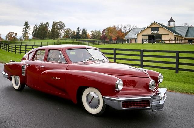 Vẻ sang trọng và tinh tế của Tucker 48 Prototype 1947