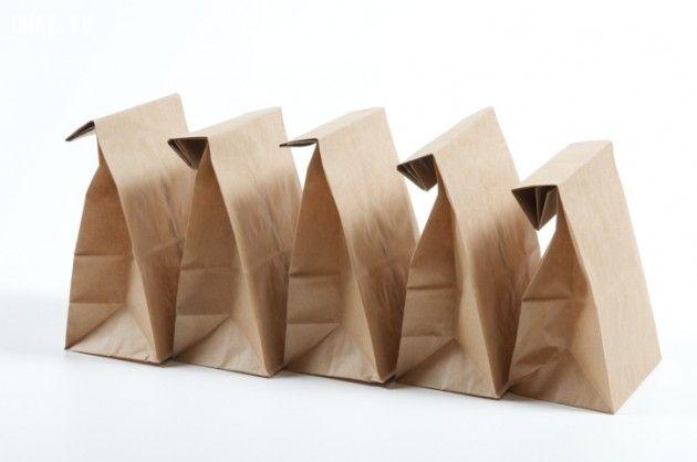 Túi giấy - một sản phẩm tiện lợi và có khả năng chứa được nhiều đồ