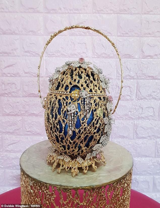 Túi hình quả trứng phục sinh