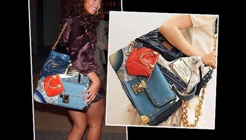 Nhà thiết kế đã sử dụng các mảnh da từ 15 chiếc túi Louis Vuitton khác để làm nên chiếc Tribute Patchwork