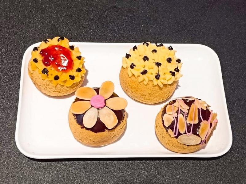 Bánh ngọt hấp dẫn