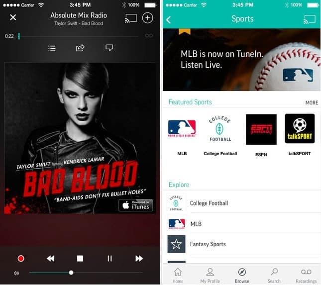 TuneIn Radio – Radio & Music