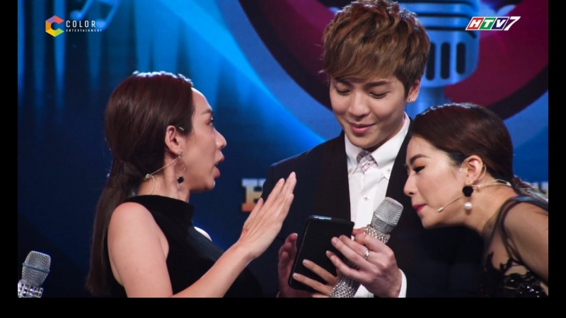 Hình ảnh Tùng Anh cùng hai vị khách mời