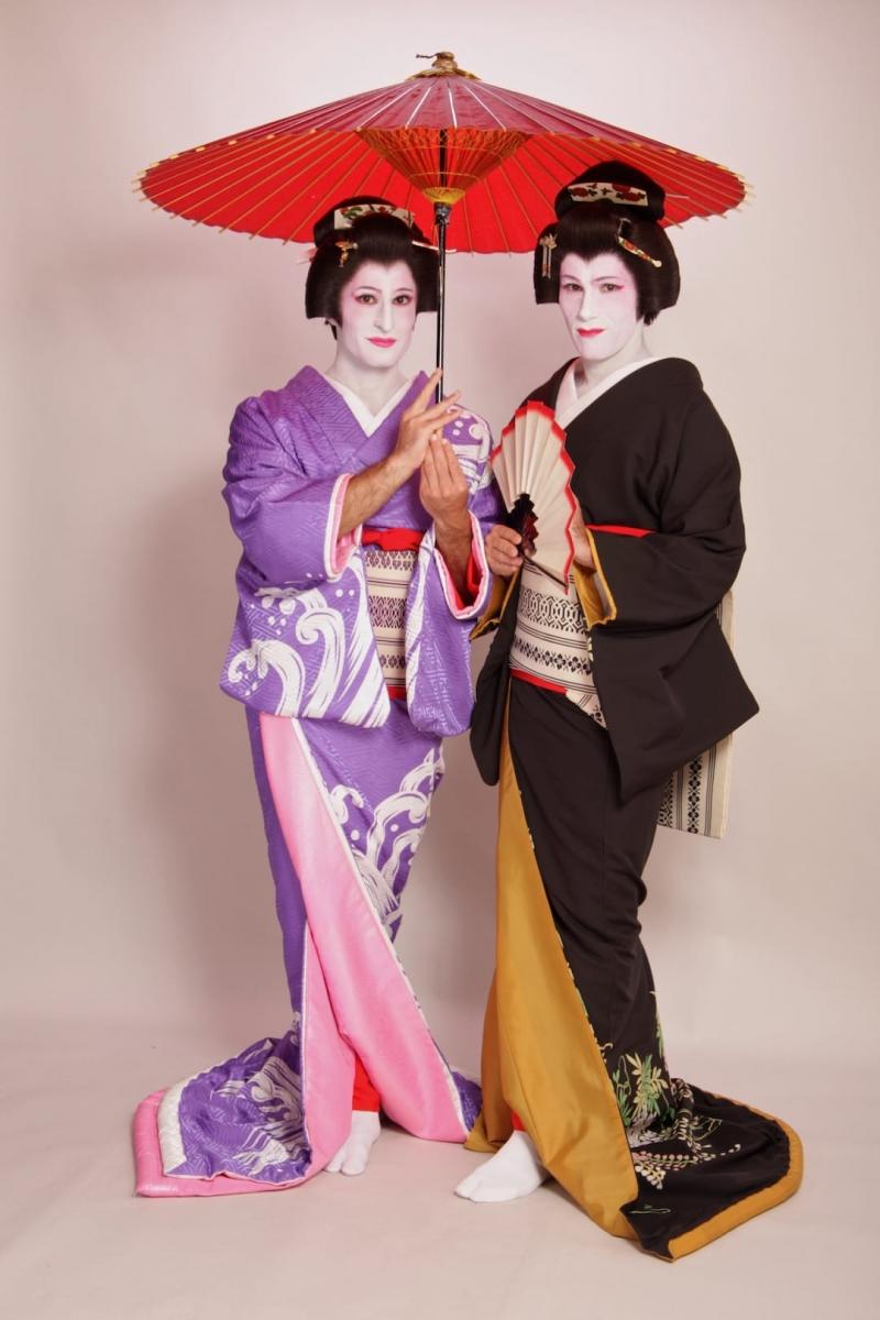 Geisha nam từng xuất hiện trong quá khứ