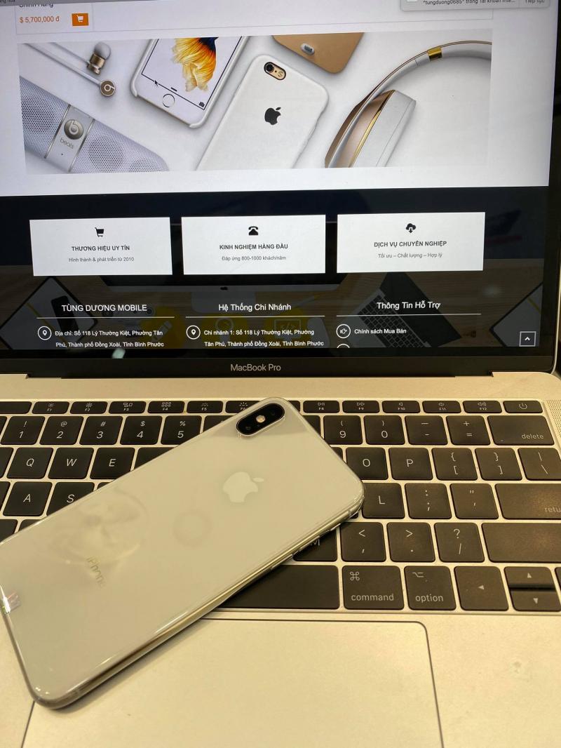 Tùng Dương iPhone