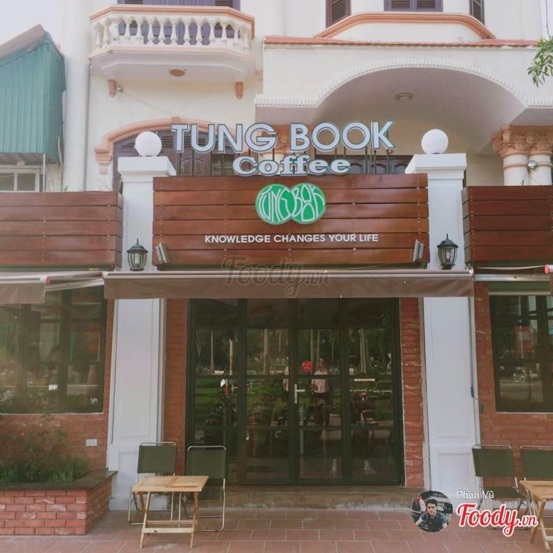 Khung cảnh bên ngoài của Tungbook Café