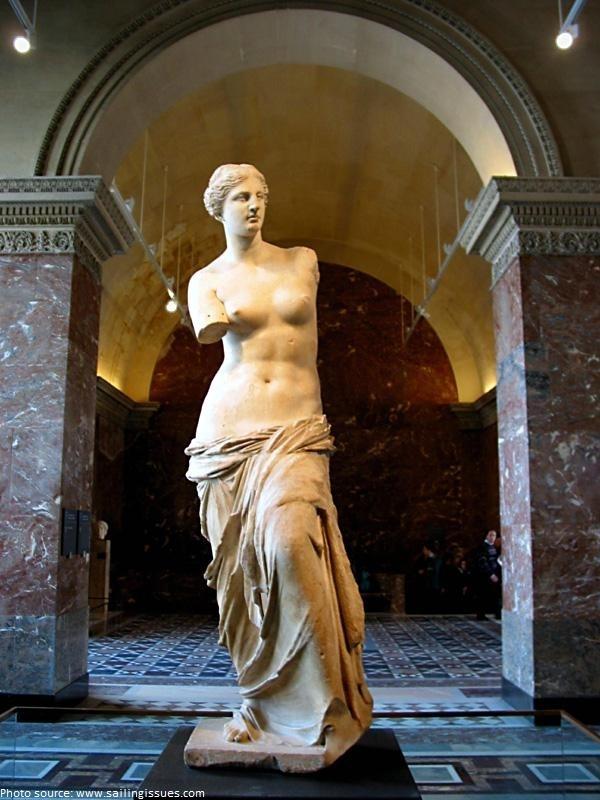 Tượng Aphrodite Of Milo (Thần Vệ Nữ Thành Milo)