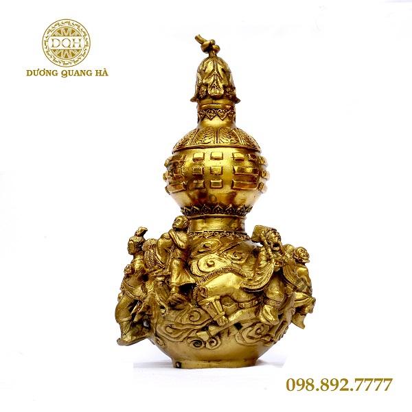 Tượng hồ lô dát vàng