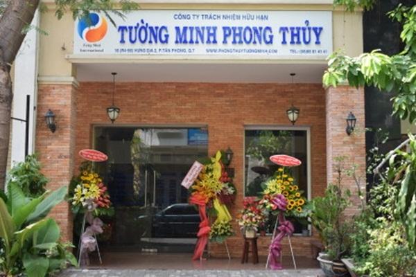 Mặt tiền của công ty Tường Minh Phong Thủy
