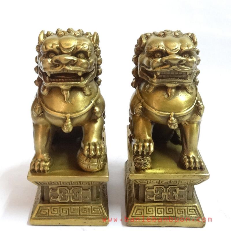 Tượng sư tử sẽ mang lại nhiều suôn sẻ trong việc kinh doanh hơn