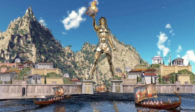 Tượng thần Mặt Trời ở Rhodes có thể nói là một bức tượng vô cùng vĩ đại, tọa lạc trên đảo Rhodes của Hy Lạp