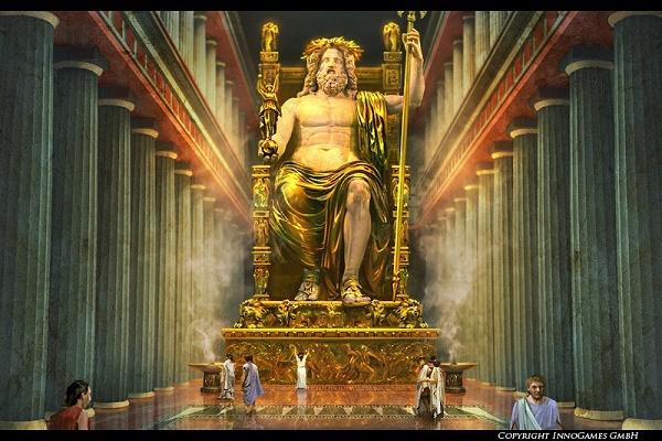 Đây là một bức tượng ngồi, đặt trong một ngôi đền cùng chiều cao là 12 m