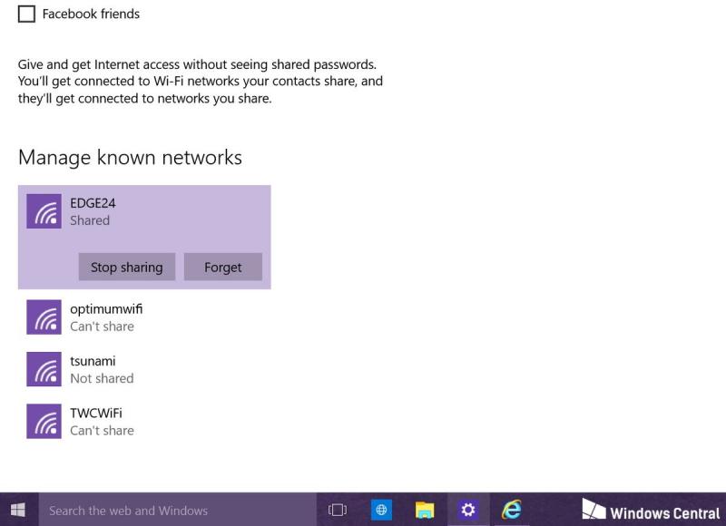 Xử lý Forget Wi-Fi trên Windows 10
