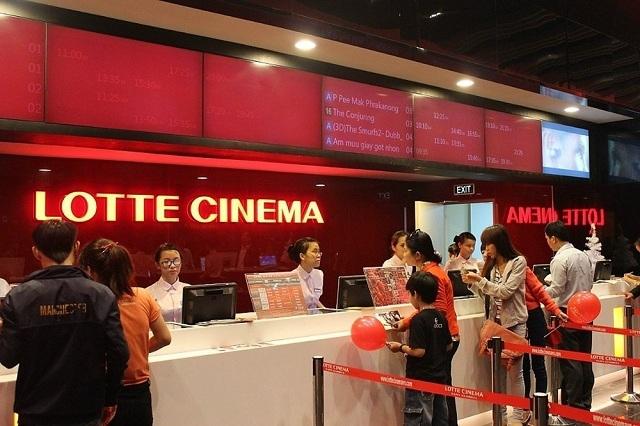Tuyển nhân viên soát vé, coi camera ở rạp chiếu phim, lotte, siêu thị