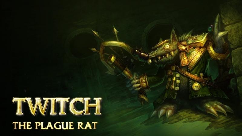 Twich là một xạ thủ mạnh nhất về cuối trận đấu nhưng kém độ cơ động