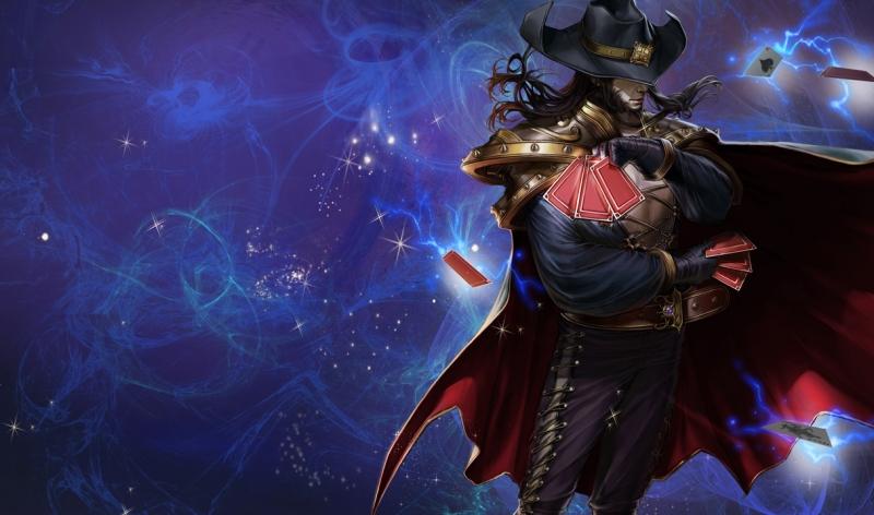 Twisted Fate là pháp sư có khả năng di chuyển gần như cả bản đồ với chiêu cuối của mình