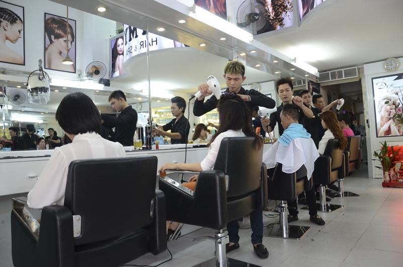 Dịch vụ chăm sóc tóc tại TyMy Beauty Salon