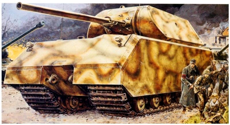Siêu tăng Panzer VIII Maus của Đức Quốc Xã.