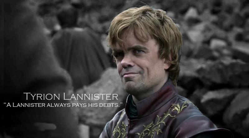 Nhân vật Tyrion Lannister nhà Lannister