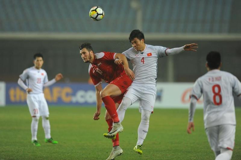 U23 Việt Nam thi đấu quật cường trước U23 Syria