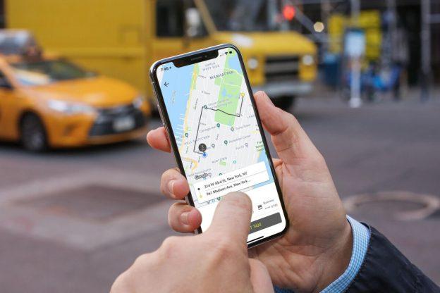 Uber Taxi – App Uber