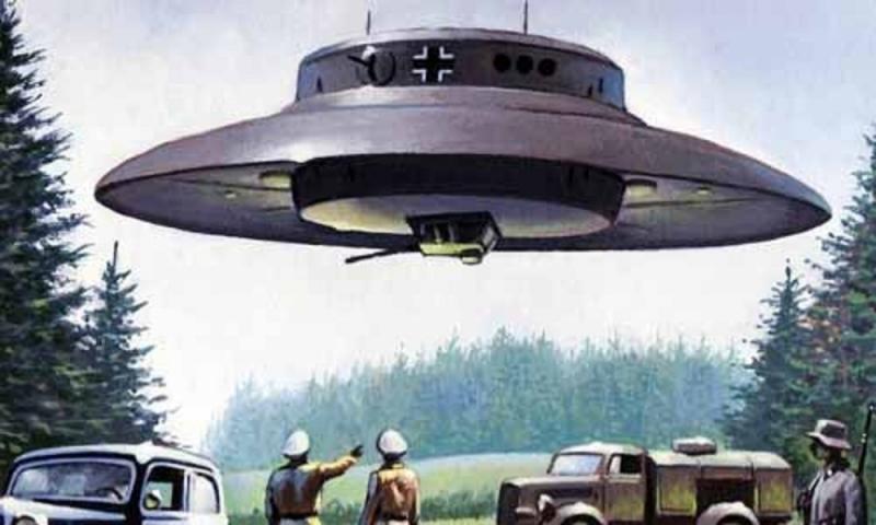 UFO có khả năng chống lực hấp dẫn