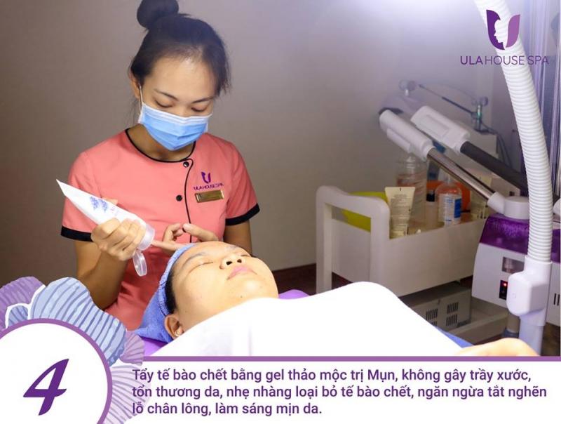 Ula House Spa tại Gò Vấp là cơ sở được nhiều chị em tin tưởng về vấn đề chăm sóc da và điều trị mụn hiệu quả và an toàn.