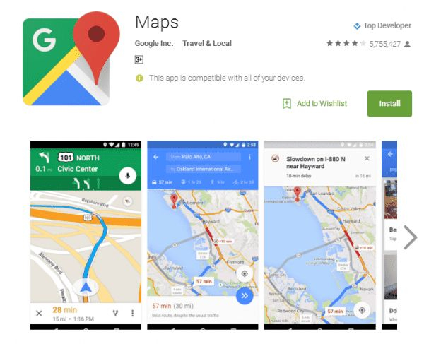 Top 7 ứng dụng bản đồ - chỉ đường tốt nhất hiện nay