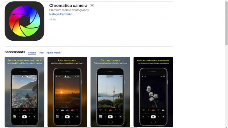 Chromatica camera