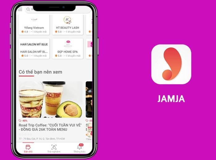 Ứng dụng đặt bàn Jamja