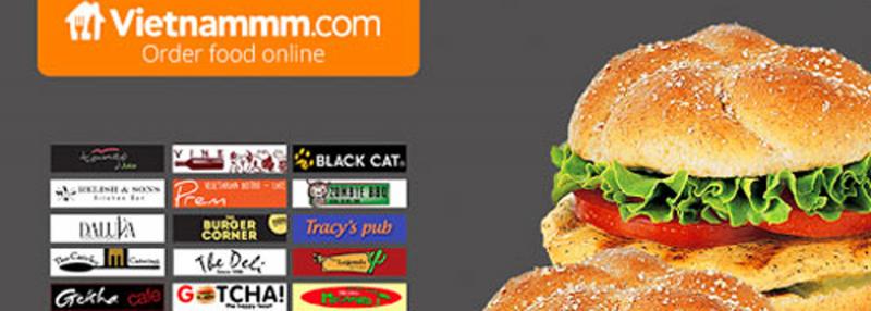 Ứng dụng đặt đồ ăn - Vietnammm
