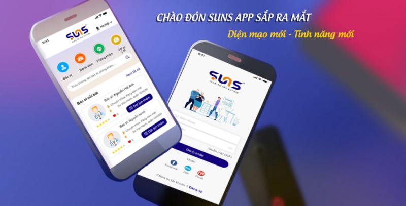Ứng dụng đặt lịch khám: SUNS App