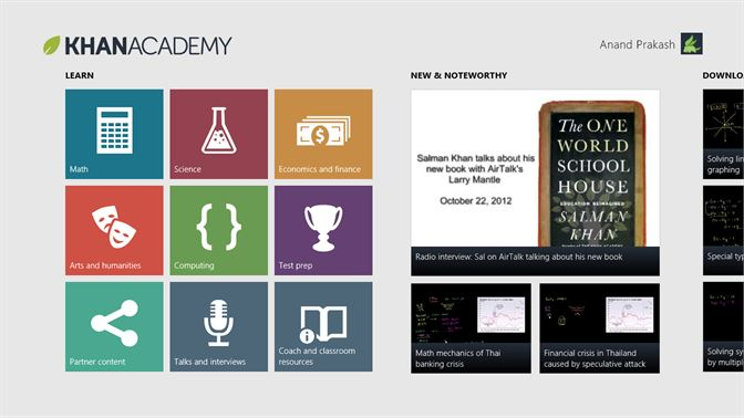 Ứng dụng Khan Academy