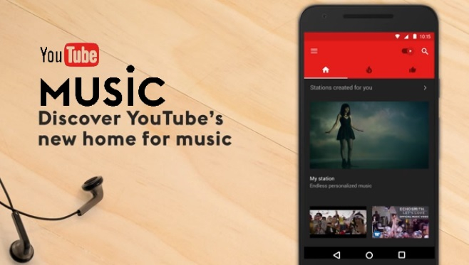 Ứng dụng YouTube Music