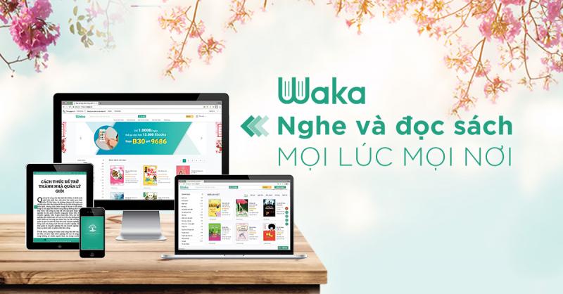 Ứng dụng đọc sách Waka