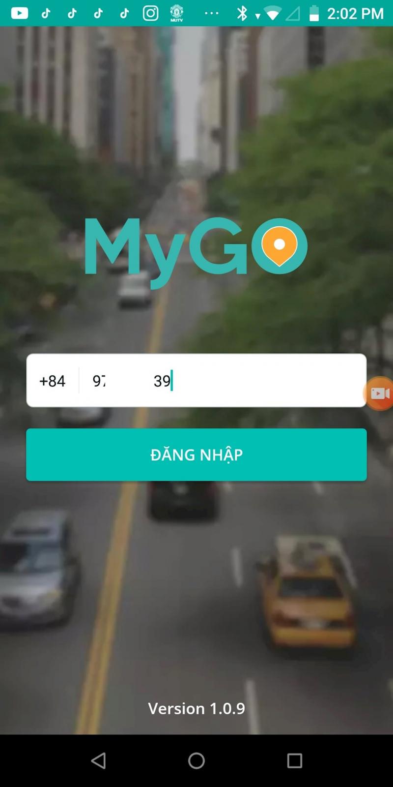 Ứng dụng gọi xe MyGo (Viettel Post)