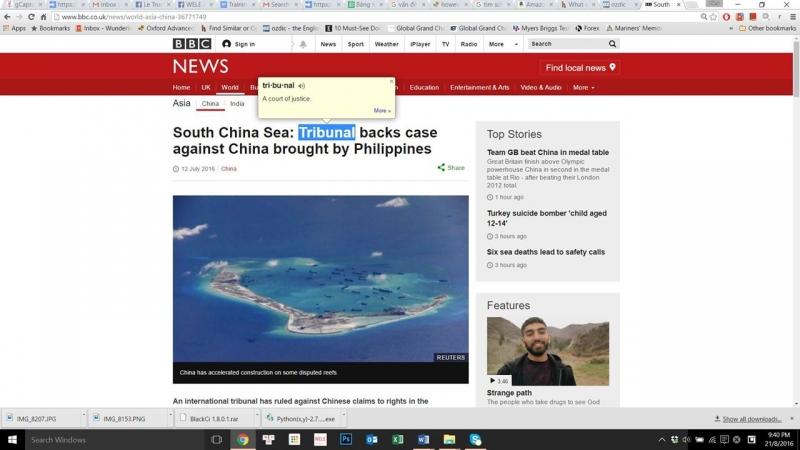 Ứng dụng Google Dictionary trên Chrome