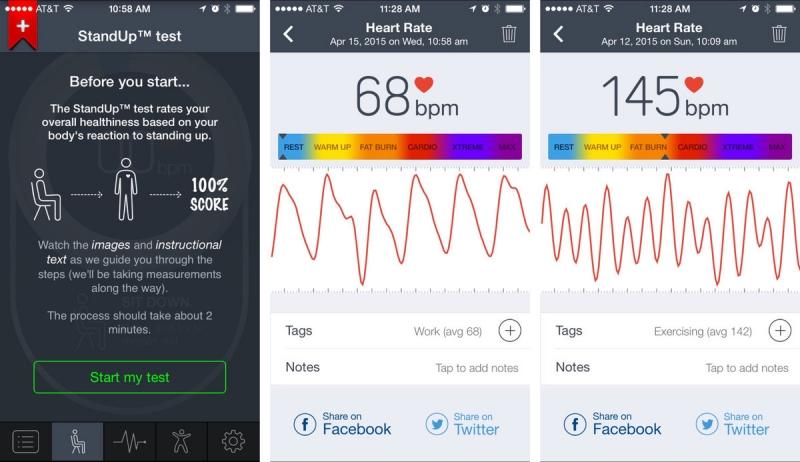 Ứng dụng theo dõi tình trạng sức khỏe tim mạch