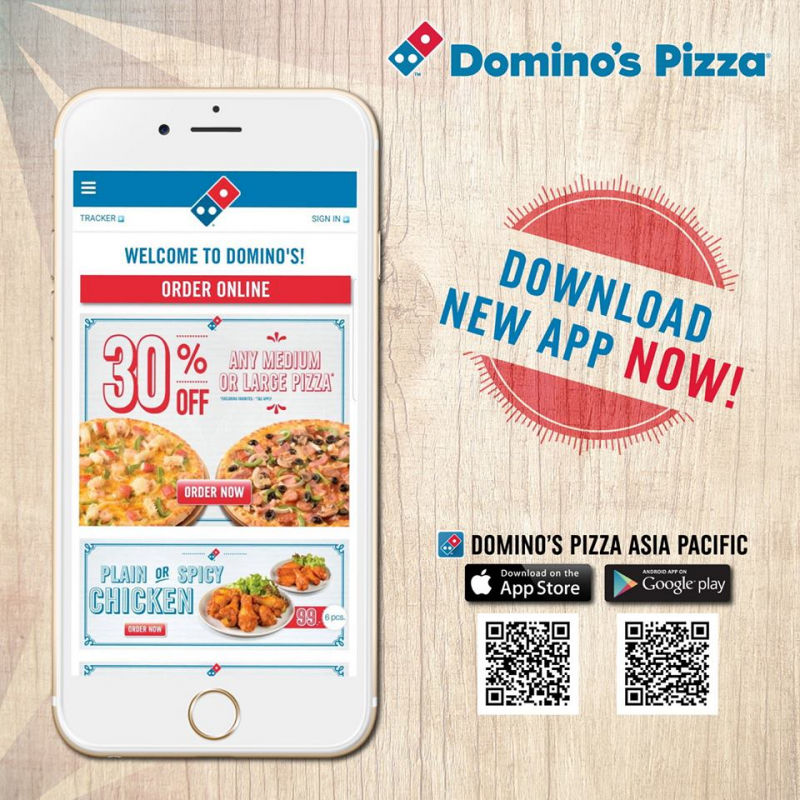 Ứng dụng Domino's Pizza