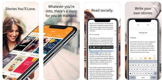 Wattpad đã nổi tiếng từ trước khi có App Store