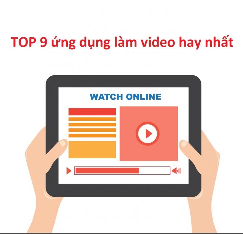 Top 10 ứng dụng làm video đơn giản nhất trên máy tính