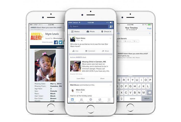 Ứng dụng Facebook trên iPhone
