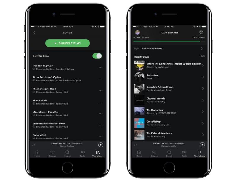 Ứng dụng Spotify Music trên iPhone