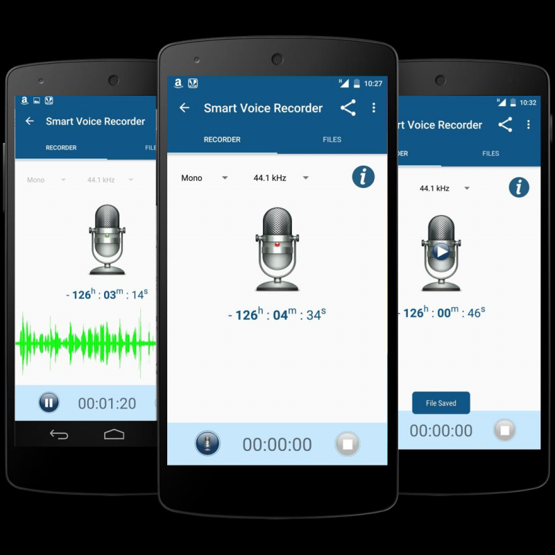 Ứng dụng Smart Voice Recorder