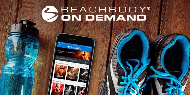 Ứng dụng tập luyện Beachbody
